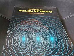Supplement For Technical Mathematics Mid-state Technical College