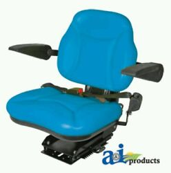 Big Boy Seat Blue With Arm Rests For Ford Tractor/ New Holland
