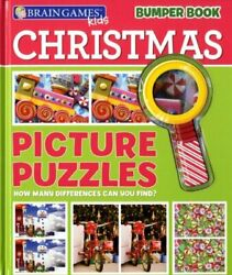 Christmas Picture Puzzles With Magnifying Glass Hardback Rrp Andacircandpound12.99 By Unkno