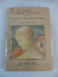 Claude Roger-marx French Original Engravings From Manet To The Present Time 1934