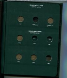Indian Head Penny 1859 - 1909 41 Coin Partial Set G Vg Fine 8934k