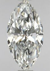 0.50 Carat Diamond Marquise Cut Loose Stone Gia Certified - Design Your Own Ring