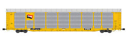 Usa Trains G Scale Bi Level Auto Carrier R17190 Tfm  Yellow