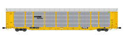 Usa Trains G Scale Bi Level Auto Carrier R17176 Norfolk Southern Yellow