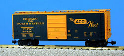 Usa Trains G Scale R19212b Candnw W/8' P.s. Green/yellow Ps1 Box Car