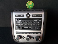 2004 2005 Nissan Murano Remanufactured 6 Disc Cd Cassette Player Radio Oem