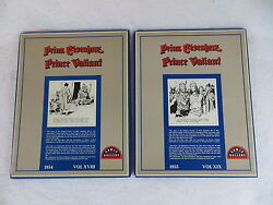 Harold Foster Valiant Comic Gallery 1954 And 1955 Boxed Ring Binder Pages