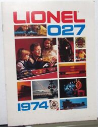1974 Lionel O27 Electric Train Sets And Accessories Catalog Toy Kits Locomotives