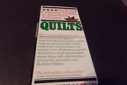 Vintage Collectors Guide To Antique American Quilts Coverlets Rugs Samplers 1983