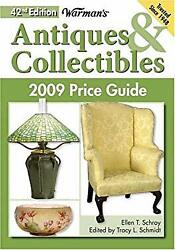 Warman's Antiques And Collectibles 2009 Price Guide Paperback Ell
