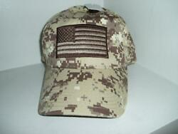 Tactical Operators Hat With Patch Flag Decal Adjustable Baseball Cap Hat