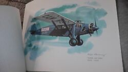 United Airlines Collector Nixon Galloway Print Litho Travel Air 5000 Express Us