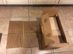 Laminated Engineered Oak Bruce Hardwood Flooring Solid 18 Sq Ft