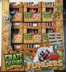 Crate Creatures Surprise Flingers Full Case Of 18 Hot New Ships Fast