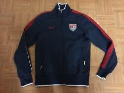 Vintage🔥 Nike Usa Authentic N98 Track Top Jacket Soccer Federation Team Small S
