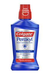 Colgate Peroxyl Mouth Sore Rinse Mild Mint 8.4oz 038341106365