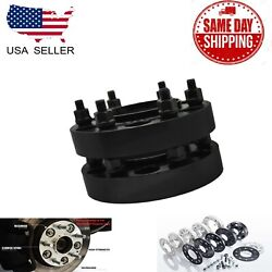 4pc 6x5.5 Hubcentric Wheel Adapter Fit Fj Cruiser Tundra Sequoia 1.5and039and039 6x139.7