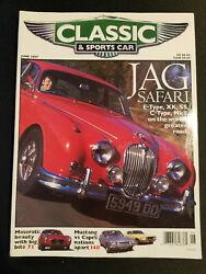 Classic And Sports Car - June 1997/ Greatest Jags Meet Worlds Best Roads