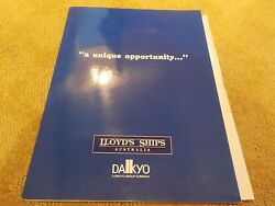 Lloydand039s Ships - Sales Marketing Export Brochure For V102 A 96and0399 Fast Motoryacht