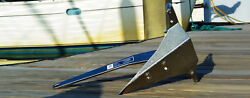 17lb Mantus Stainless Steel Anchor - Boat Stern Yacht Rear