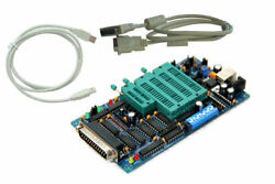 New Pcb6.0e Kee Willem Eprom Programmer Ship From Usa Free Db25 And Usb Cables