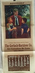 Will Rogers - Jumble 1941 Sample Gerlach Barklow Calendar-the Sage Of Claremore