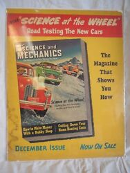 Science At The Wheel  Magazine Ad Poster  Science And Mechanics  1951