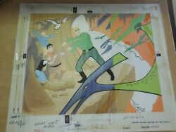 Original Journey To The Center Of The Earth Puzzle Art With Box