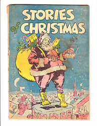 Stories Of Christmas 1942 Giveaway Comic Santa Infinity Cover Scarce