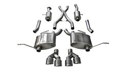 Corsa Performance 14992 Sport Cat-back Exhaust System Fits Grand Cherokee Wk2
