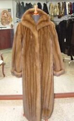 BRAND NEW TOP QUALITY SABLE FUR COAT FOR WOMAN WOMEN