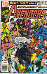 Avengers 181 Vf+ To Vf/nm
