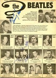 The Beatles Impact On Country Music - Autographs