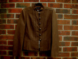 Article Cotton Blend Military style Brown jacket size EU 44, UK 14
