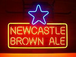New Newcastle Brown Ale Neon Sign 20x16 Beer Bar Pub Gift Light Lamp