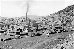 Poster, Many Sizes Gold Mine In Victor, Colorado Around 1900
