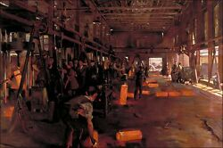 Poster, Many Sizes Artillery Shell Forge National Projectile Factory London 191