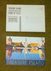 1939 San Francisco Golden Gate Inter Expo Ggie Treasure Island And Spans Of Steel