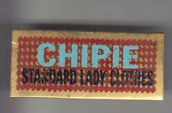 Rare Pins Pin's .. Mode Fashion Jeans Chipie Standard Lady Clothes Big Or Cy