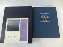 Lot Of 2 Young's Analytical Concordance To The Bible And Nelson Family Bible