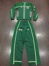 Rare🔥 Nike Lebron James Family Owned Irish Full 2 Piece Lucky Green Suit Sz Xs