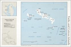Poster Many Sizes Cia Map Of Turks And Caicos Islands 1976