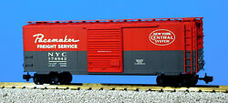 Usa Trains G Scale R19210c Nyc W/8' Youngstonw - Red/gray Ps1 Box Car