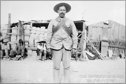 Poster Many Sizes Pancho Villa Wearing Bandoliers In Front Of An Insurgent Cam