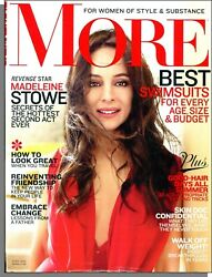 More Magazine - 2012 June - Madeleine Stowe Best Swimsuits For Every Age-size