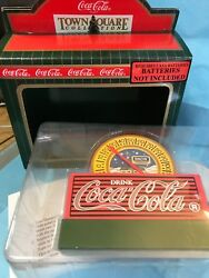 Coca-cola Thermometer With Coke Sign-----------rp