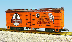 Usa Trains G Scale R16390 Old Topper Ale - Oran/bc Red Reefer