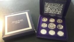Australia Masterpieces In Fine Silver 1998 Proof Coins Of The 20th Century