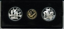 Australia 1993 The Olympic Centennial Proof Gold And Silver Collection