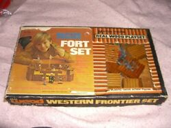 Western Frontier Fort Set Wooden Playset Multiple Toymakers